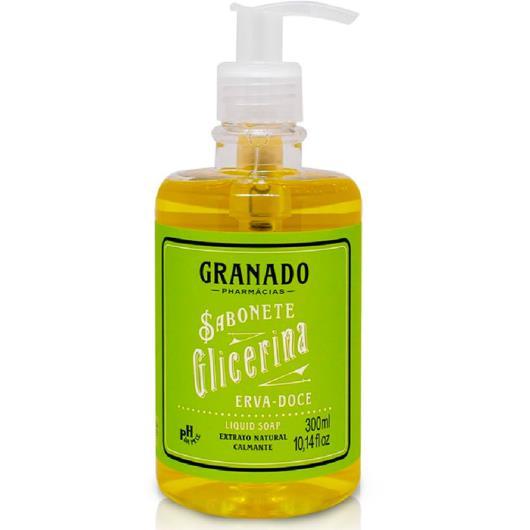 Sabonete Líquido Granado Glicerina Erva Doce 300ml - Imagem em destaque