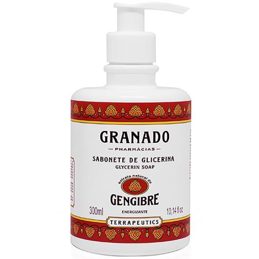 Sabonete Líquido Granado Glicerina TERRAPEUTICS Gengibre 300ml - Imagem em destaque