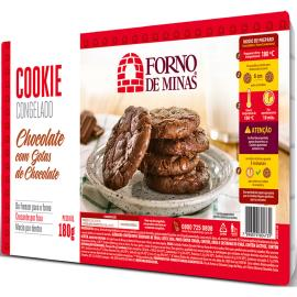 Cookie Forno de Minas Chocolate com Gotas de Chocolate Congelado 180g