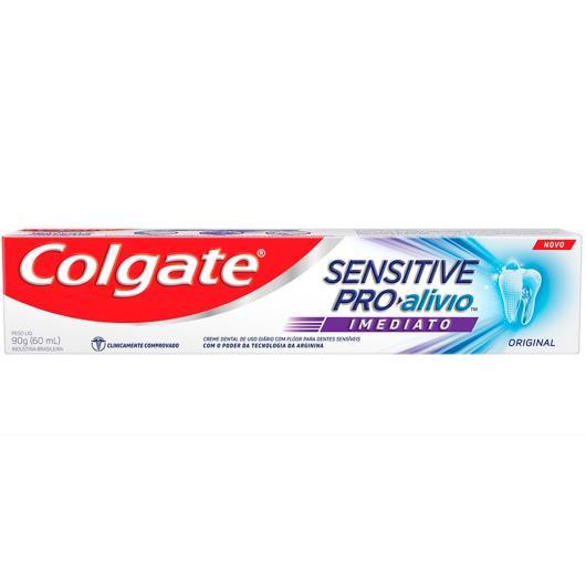 Creme Dental Colgate Sensitive Pro-Alívio Original 90g - Imagem em destaque