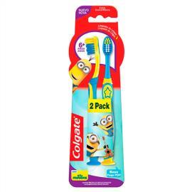 2 Escovas Dental Colgate Minions
