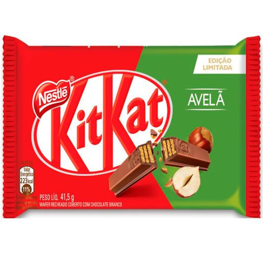 Wafer Kit Kat avelã 41,5g - Imagem em destaque