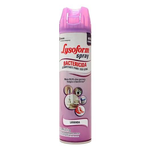 Desinfetante bactericida lavanda Lysoform spray 360ml - Imagem em destaque