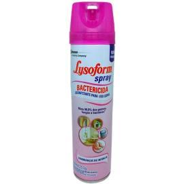 Desinfetante bactericida lembrança de infância Lysoform spray 360ml