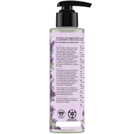 Sabonete líquido óleo argan e lavanda Love Beauty and Planet 300ml - Imagem em destaque