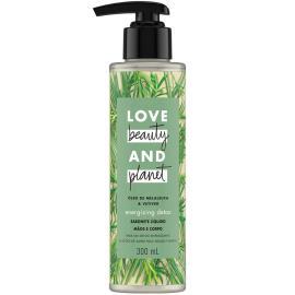 Sabonete líquido óleo melaleuca e vetiver Love Beauty and Planet 300ml