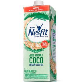 Alimento de Arroz Integral Coco Vegetal Nesfit 1L