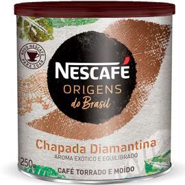 Café torrado e moído Chapada Diamantina Origens Nescafé lata 250g