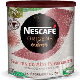 Café torrado e moído Serras do Alto do Paranaíba Origens Nescafé lata 250g