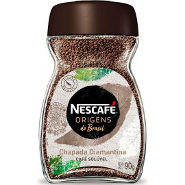 Café solúvel Chapada Diamantina Origens Nescafé vidro 90g