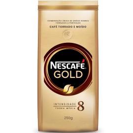 Café torrado e moído Gold Nescafé 250g