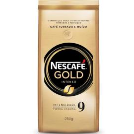 Café torrado e moído Gold intenso Nescafé 250g