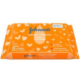 Toalha Umedecida Johnson's Limpeza e Suavidade 44 unids.