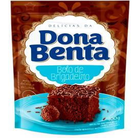 Mistura para Bolo Dona Benta Brigadeiro 400g