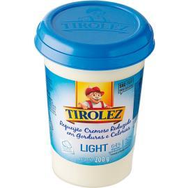 Requeijão Tirolez Cremoso Light 200g