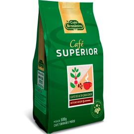 Café Brasileiro Torrado e Moído Superior Pouch 500g