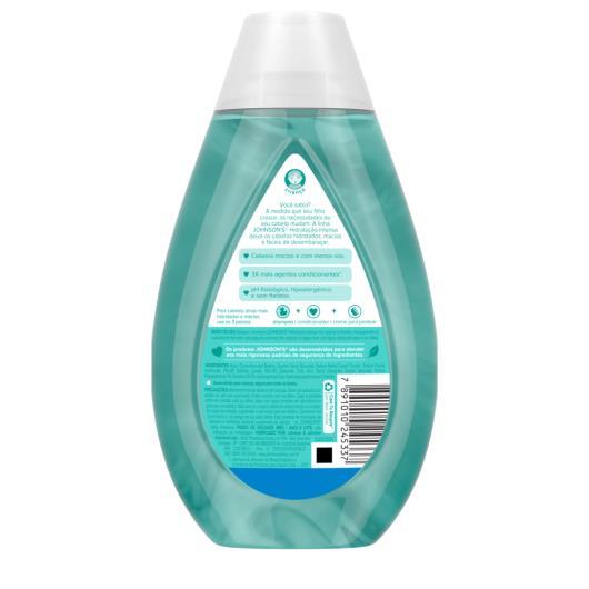 Shampoo JOHNSON'S® Hidratação Intensa 400 ml - Imagem em destaque
