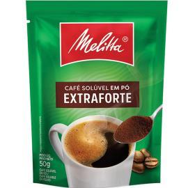 Café Melitta Extra Forte Solúvel Sachê 50g