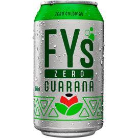 Refrigerante guaraná zero Fys lata 350ml