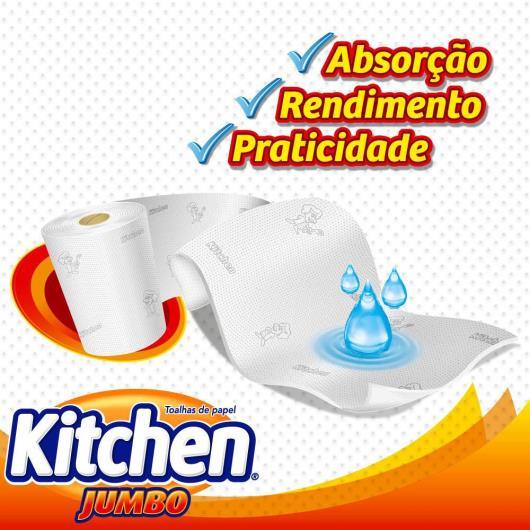 Papel Toalha Kitchen Jumbo Leve 360 Pague 330 folhas - Imagem em destaque