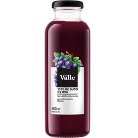 Suco integral 100% uva Del Vale 300ml