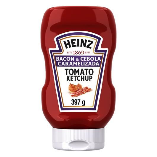 Ketchup bacon e cebola caramelizada Heinz 397g - Imagem em destaque