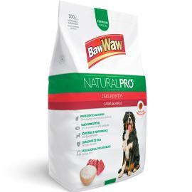 Alimento para Cães adulto carne e arroz Natural Pró Baw Waw 1kg