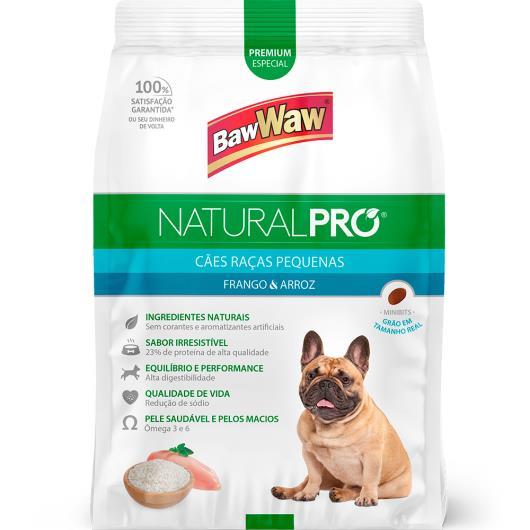 Alimento para cães raças pequenas Baw WAw Natural Pró 6Kg - Imagem em destaque