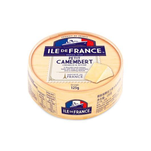 Queijo petit camembert Ile De France 125g - Imagem em destaque