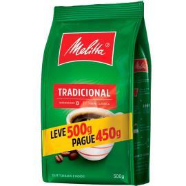Café Melitta Tradicional Leve 500g Pague 450g