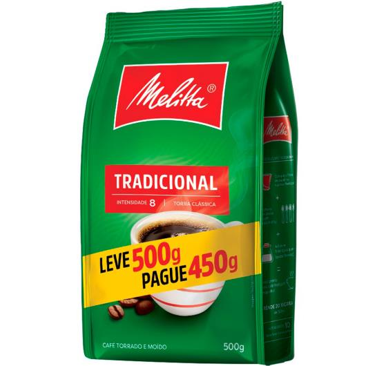 Café Melitta Tradicional Leve 500g Pague 450g - Imagem em destaque