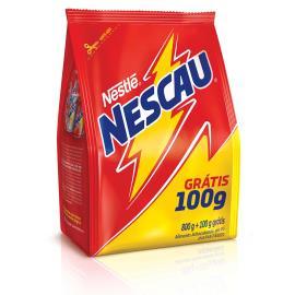 Achocolatado em pó Nescau 2.0 embalagem econômica sachê 800 g + 100 g grátis
