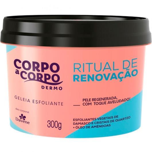 Geleia esfoliante dermo ritual de renovação Corpo a Corpo 300g - Imagem em destaque