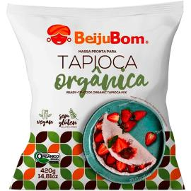 Massa para Tapioca pronta orgânica BeijuBom 420g