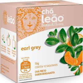 Chá earl grey Frutas e Flores Leão 16g