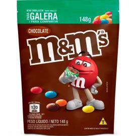 Confeito chocolate ao leite M&M's 148g