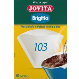 Filtro de papel 103 Brigitta com 30 unidades
