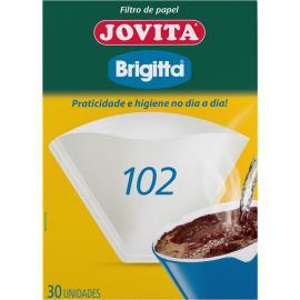 Filtro de papel 102 Brigitta com 30 unidades
