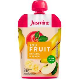 Polpa banana e maçã Sou Fruit Jasmine 100g