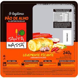 Pão de Alho picante Santa Massa 240g