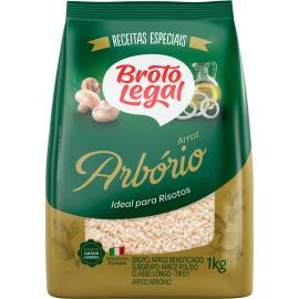 Arroz arbório Broto Legal 1kg