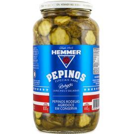 Pepino especial em conserva agridoce Hemmer 440g