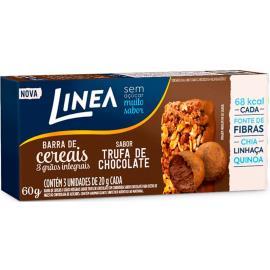 Barra de Cereal integral trufa de chocolate Linea 60g
