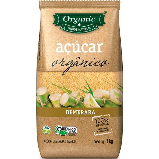 Açúcar Demerara orgânico Organic 1kg - Imagem em destaque