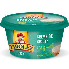 Creme de Ricota original Tirolez 200g