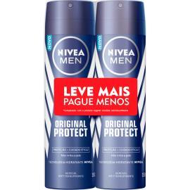 2 Desodorantes men original Nivea aerossol 300ml