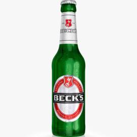Cerveja puro malte Beck's Long neck 330ml