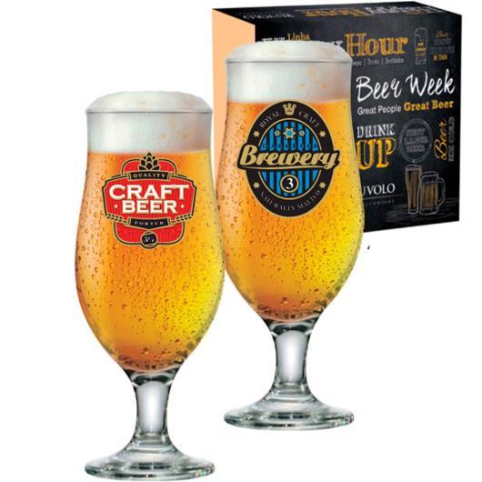 Taça royal beer Happy Hour 2 unidades 330ml - Imagem em destaque