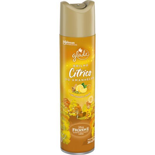 Odorizante aerossol cítrico Glade 360ml - Imagem em destaque