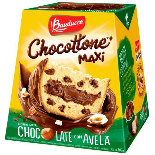 Chocottone maxi avelã Bauducco 500g - Imagem em destaque